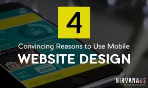 Use Mobile Website Design